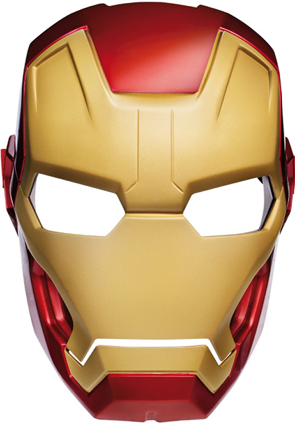 Iron man mask cut out