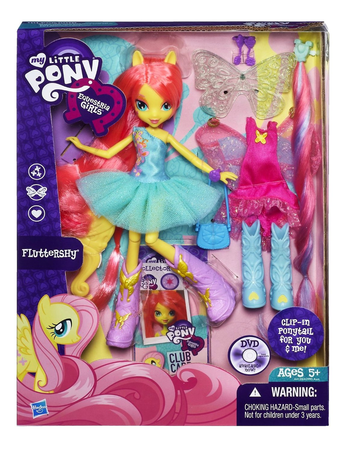 My little pony equestria girls dolls fluttershy