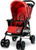 Коляска Caretero Monaco red