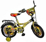 "Велосипед Dino Bikes Transformers 16"", grey-yellow"