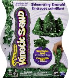 Кинетический песок Kinetic Sand Metallic, зеленый