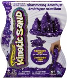 Кинетический песок Kinetic Sand Metallic, фиолетовый