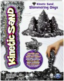 Кинетический песок Kinetic Sand Metallic, черный