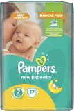 Подгузники Pampers New Baby Mini, 3-6 кг, 17 шт