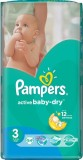 Подгузники Pampers Active Baby Midi, 4-9кг, 54 шт