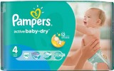 Подгузники Pampers Active Baby, 7-14кг, 46 шт