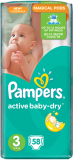 Подгузники Pampers Active Baby Midi, 4-9 кг, 58 шт