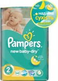 Подгузники Pampers New Baby Mini, 3-6 кг, 68 шт
