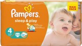 Подгузники Pampers Sleep&Play Maxi, 7-14 кг, 50 шт