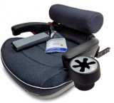 Бустер Travel Pad IsoFix, графитовый