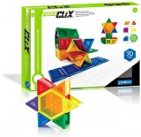 Конструктор Guidecraft PowerClix Solids, 70 дет