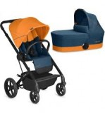 Коляска 2в1 Balios S Cybex (Tropical Blue navy blue)