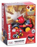 Интерактивная машинка Angry Birds Squawkers Red