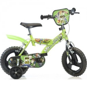 "Велосипед Dino Bikes Ben10 12"" (light green-black)"