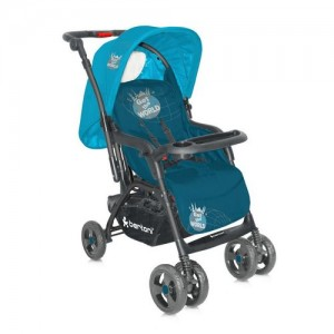 Коляска Just4kids COMBI blue get the world