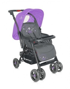 Коляска Just4kids COMBI grey&violet