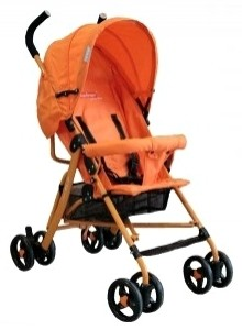 Коляска Pur Equipage Equi 6,7 , orange