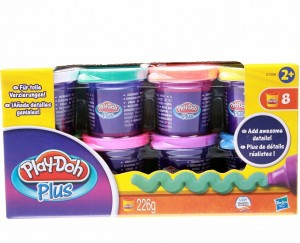 Hабор пластилина Play-Doh Plus 8 банок