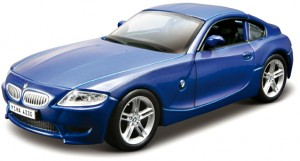 Автомодель BMW Z4 M Coupe, синий