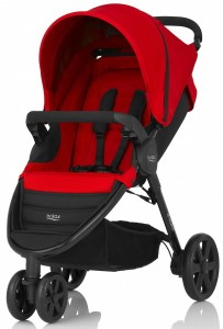 Коляска Britax B-Agile 3, Flame Red
