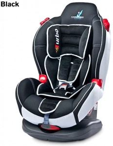 Автокресло Caretero Sport Turbo, black