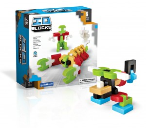 Конструктор Guidecraft IO Blocks, 76 дет