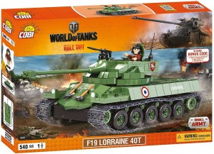 Конструктор F19 Lorraine 40T World of Tanks
