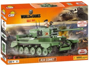 Конструктор A34 Comet World of Tanks