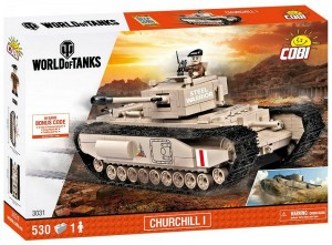 Конструктор Mk IV Churchill I World of Tanks