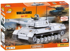 Конструктор Leopard I World of Tanks