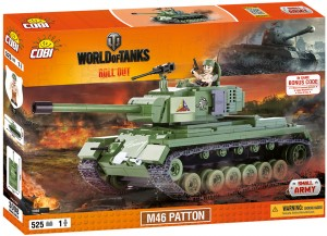 Конструктор Танк M46 Patton World of Tanks