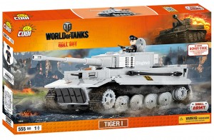 Конструктор Танк Tiger I World of Tanks