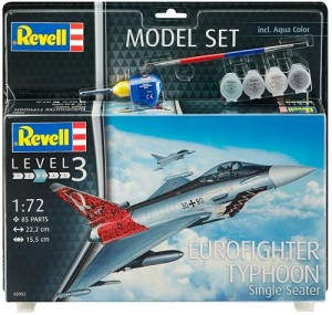 Истребитель Eurofighter Typhoon, 1:72
