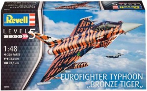 Истребитель Eurofighter Typhoon Bronze Tiger