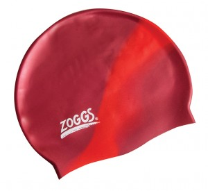 Шапочка для плаванья Silicone Cap Plain, Burgundy/Red