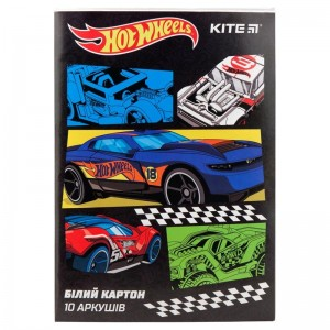 Белый картон Hot Wheels