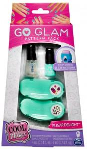 Набор для нейл-арта Sugar Delight Go Glam Cool Maker, бирюзовый