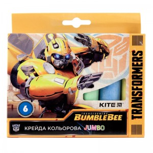 Цветной мел Transformers BumbleBee Movie, 6 шт
